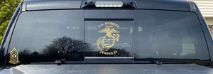 USMC EGA Semper Fi US Marine Military Custom Vinyl Car Truck Window Sticker
