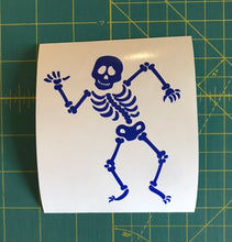 Load image into Gallery viewer, Skeleton Decal Custom Vinyl Car Truck window Laptop Halloween Sticker