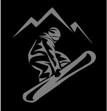 Load image into Gallery viewer, Snowboarder Decal Custom Vinyl Car Truck Window Laptop Snowboard Sticker