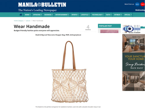MANILA BULLETIN: Budget-friendly Fashion Picks Everyone Will Appreciate
