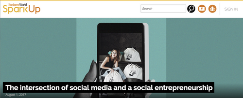 SparkUp by BusinessWorld: The Intersection of Social Media and Social Entrepreneurship