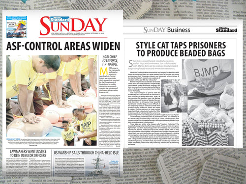 MANILA STANDARD: Style Cat taps PDLs to Produce Beaded Bags