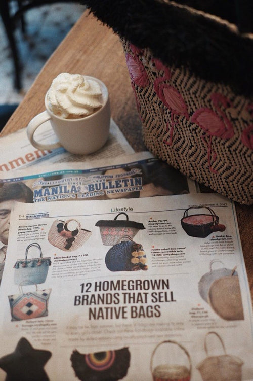 MANILA BULLETIN: 12 Homegrown Brands That Sell Native Bags