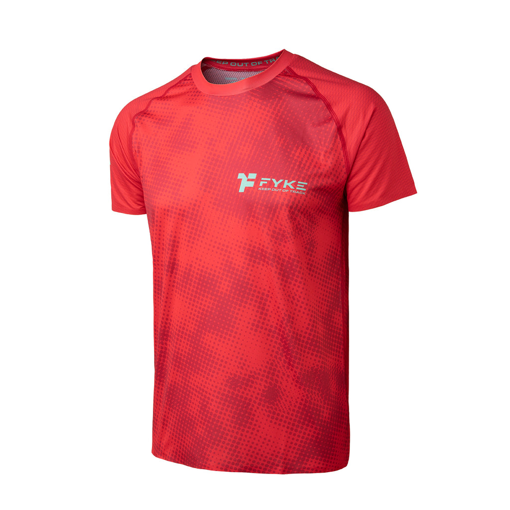 Boost Men T-Shirt Red - Halftone Print