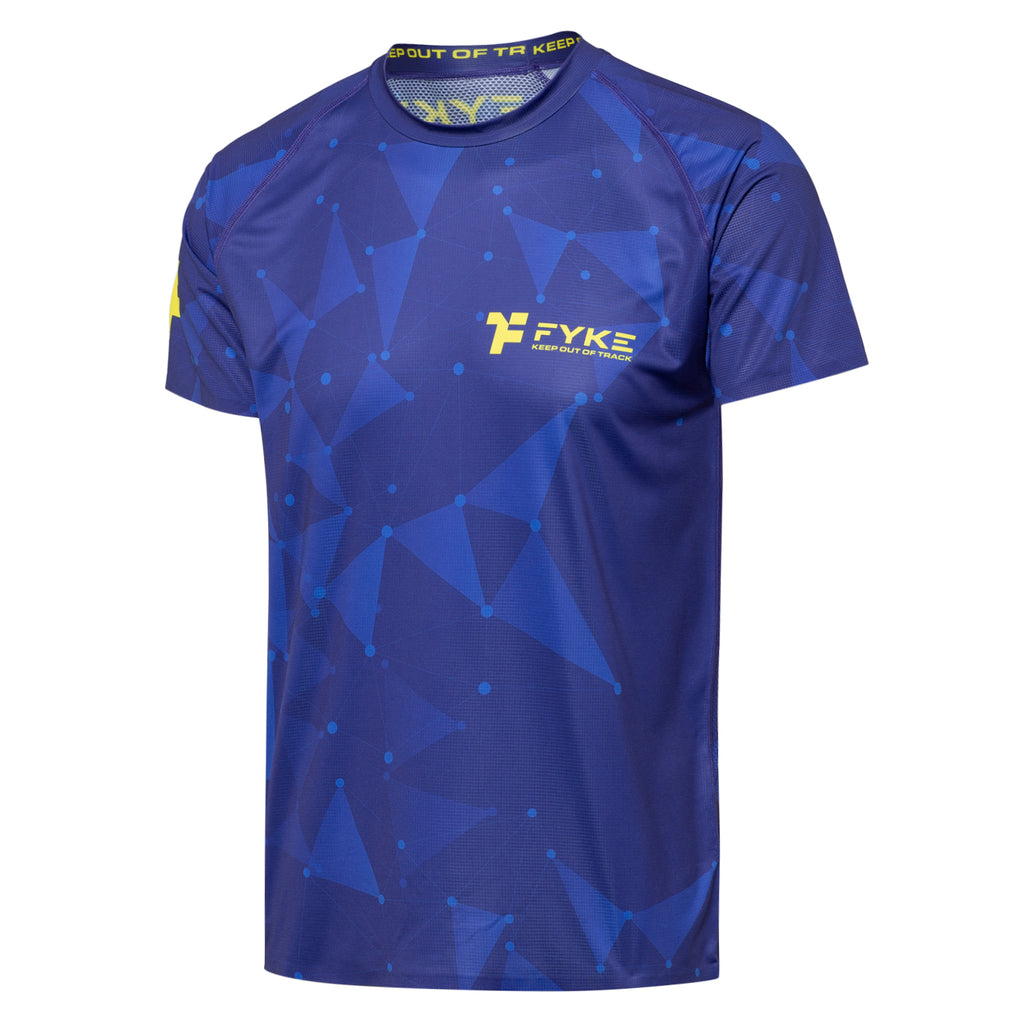 Boost Men T-Shirt Blue - Triangles