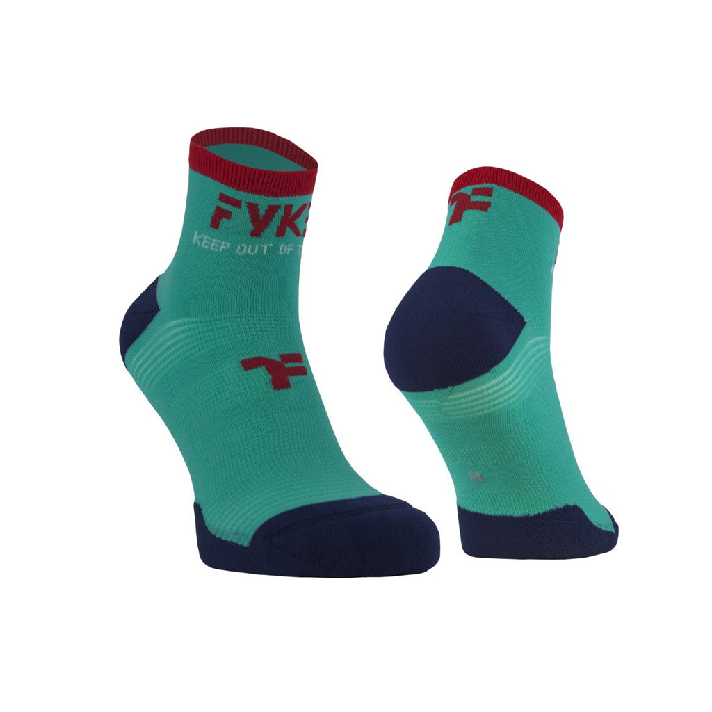 Fyke Boost Low Sock Turquoise