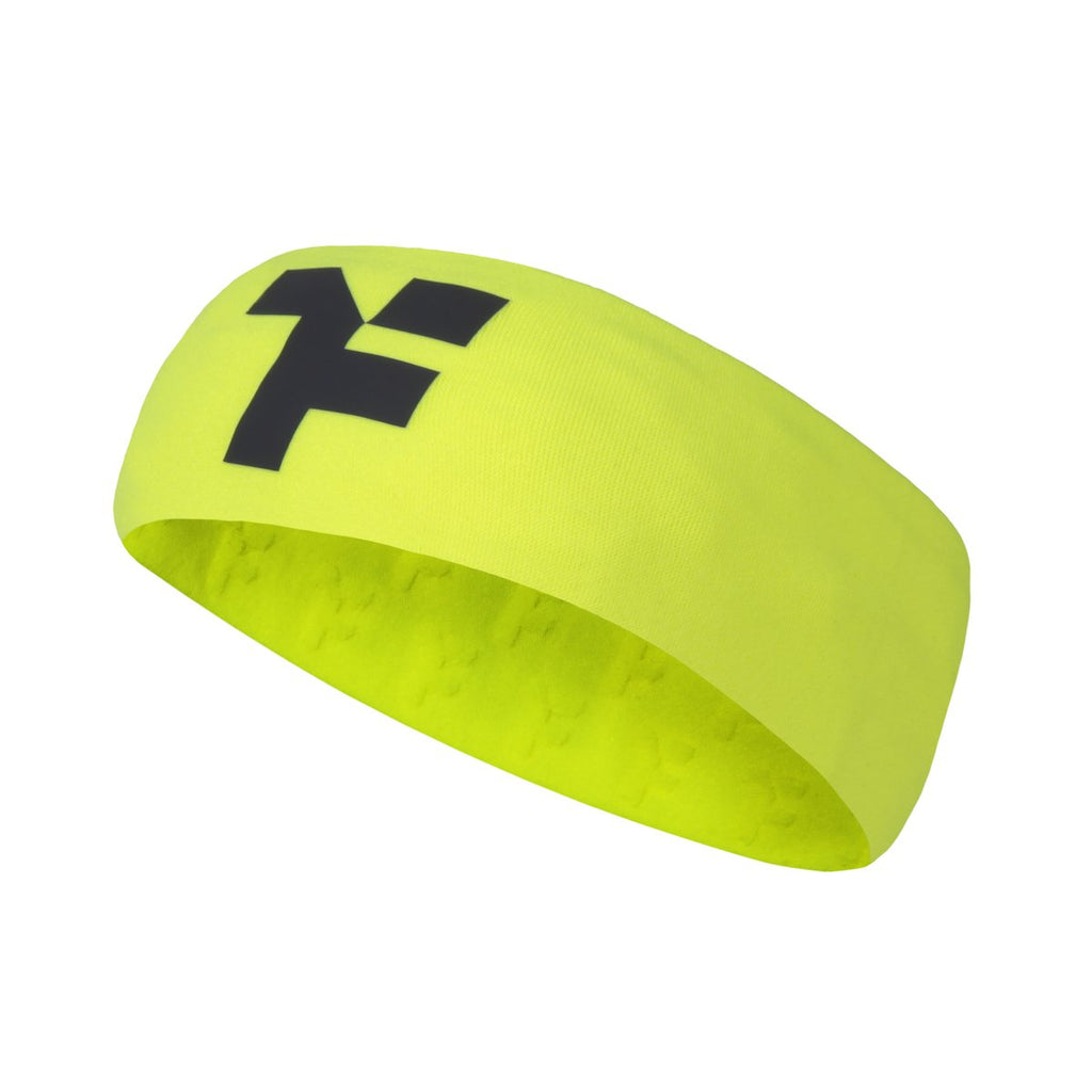 Fyke Boost Headband Yellow Fluor