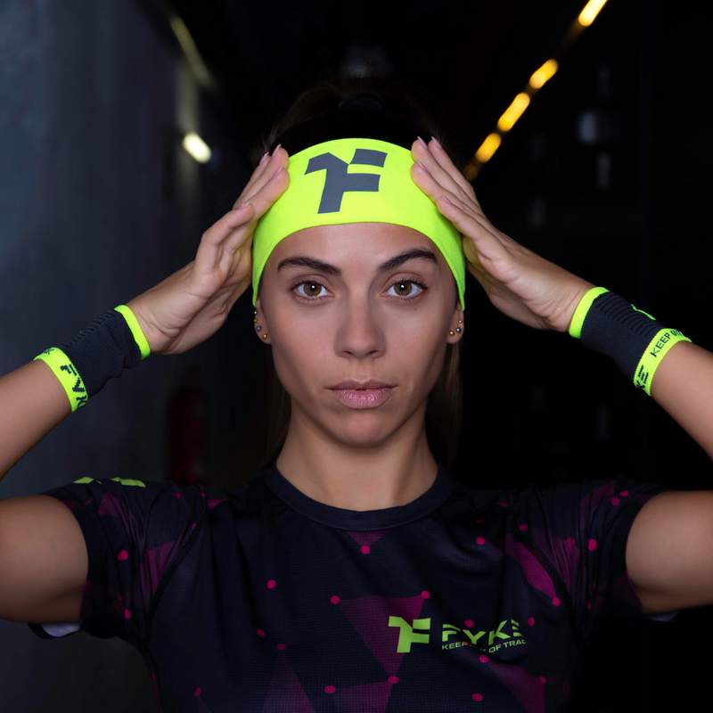 Boost Headband Yellow Fluor