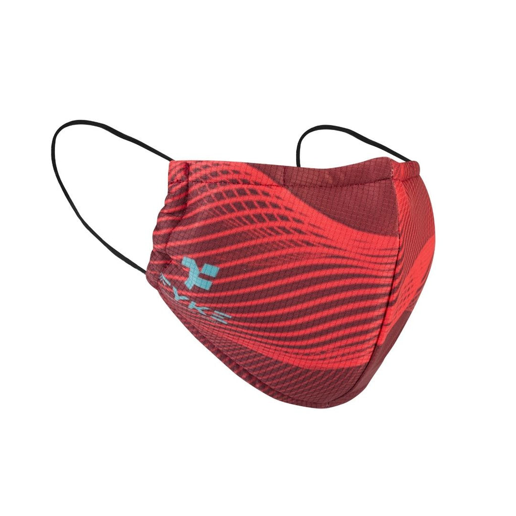 Boost Facemask Dotted Lights Red