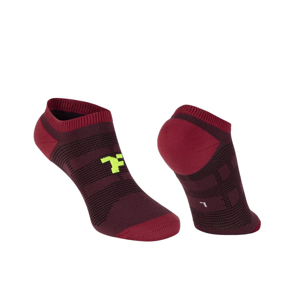 Boost Ultra Low Sock Burgundy