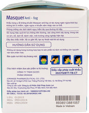 Load image into Gallery viewer, MASQUER ANTI-FOG 4 LAYER DISPOSABLE FACE MASK (50 MASKS)