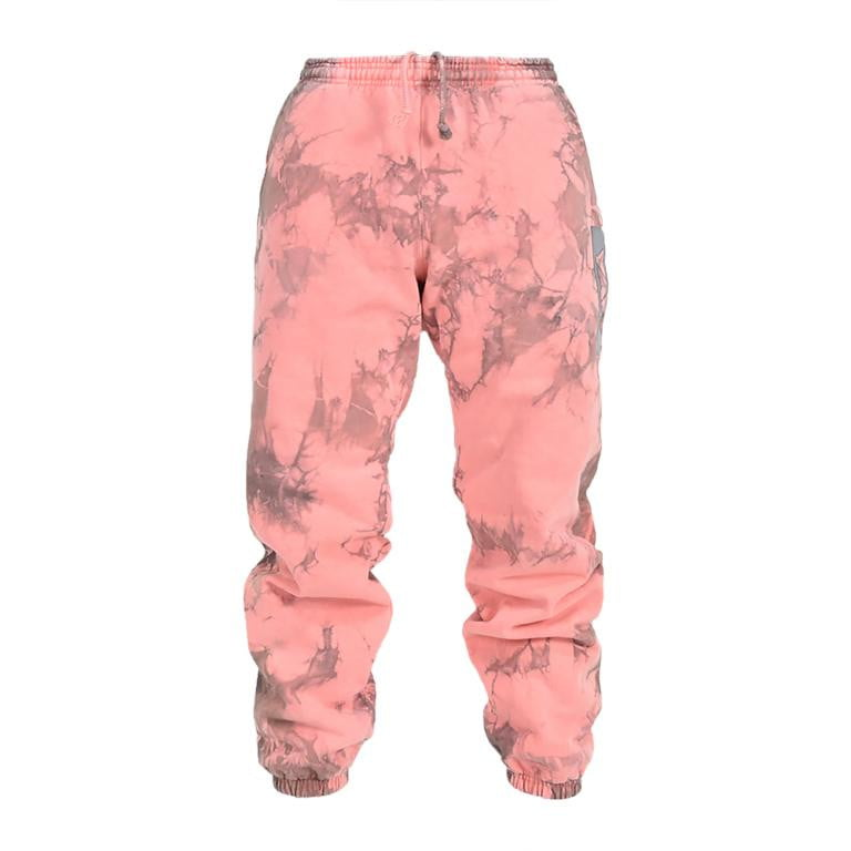 Coral Lighting Tie Dye Sweatpants - YAW DENIM