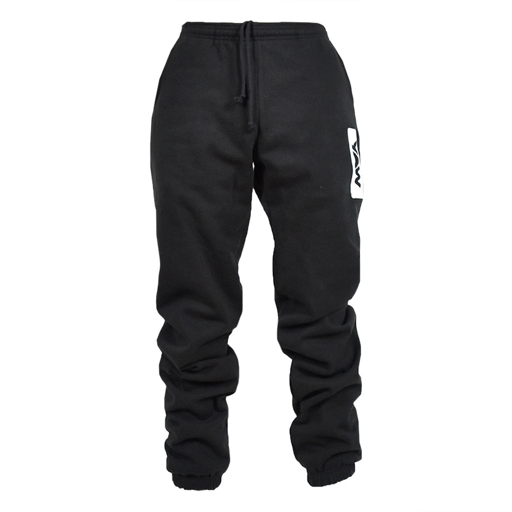 Men Black Sweatpants - YAW DENIM