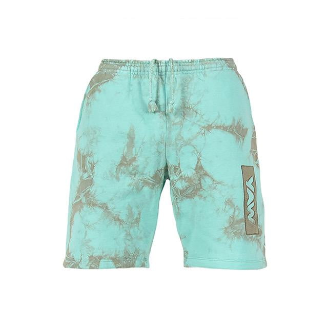 Men Aruba and Grey Lightning Shorts - YAW DENIM