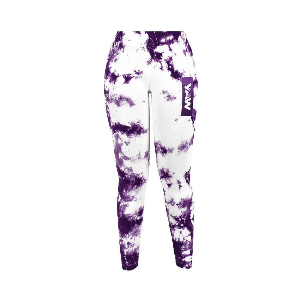 "Women ""Plum and White"" Legging - YAW DENIM"