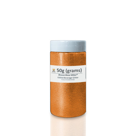 Bronze Brew Glitter | Edible Glitter for Sports Drinks & Energy Drinks
