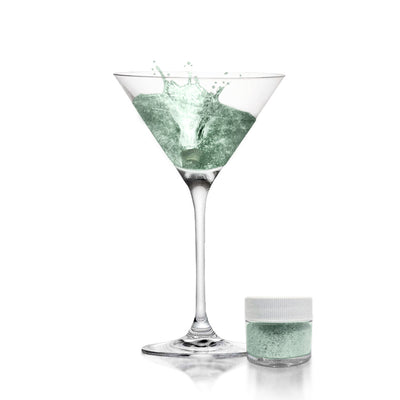 Dark Green Brew Glitter | Cocktail Beverage Glitter
