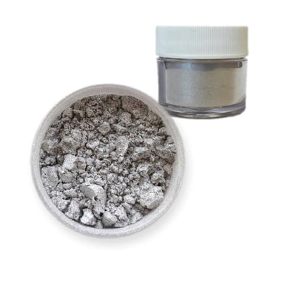 Silver Pearl Brew Dust | Edible Beverage Dust