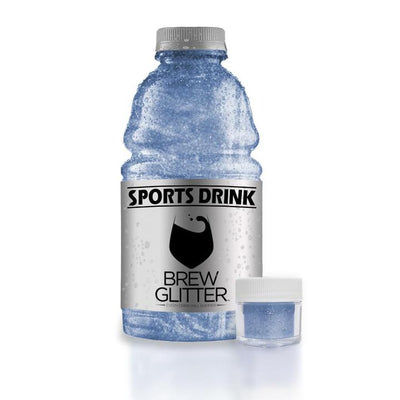 Sky Blue Brew Glitter | Edible Glitter for Sports Drinks & Energy Drinks