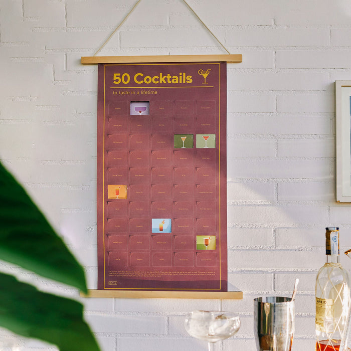 50 cocktails to taste in life