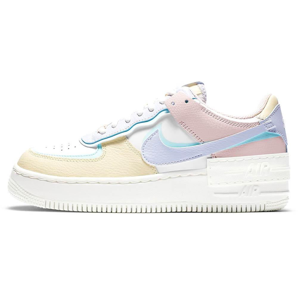 Nike Air Force 1 Shadow Pastel Blue Purple Women S Double Boxed Кроссовки air force 1 high psny 'friends & family'. double boxed