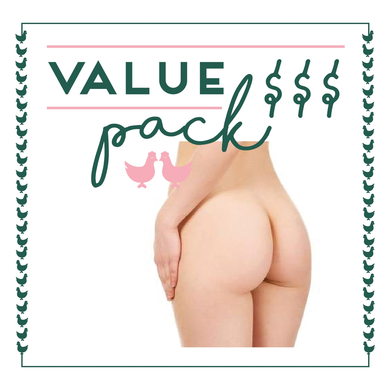 Butt Crack Laser - 6 Session Value Pack