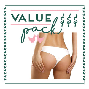 Buttocks Laser - 6 Session Value Pack