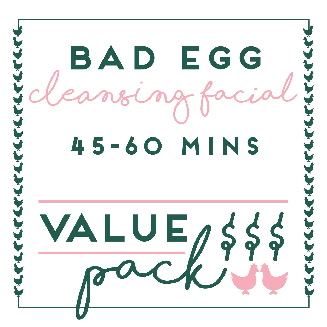 Bad Egg - 4 x VALUE PACK