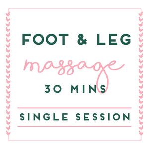 Foot & Leg Massage