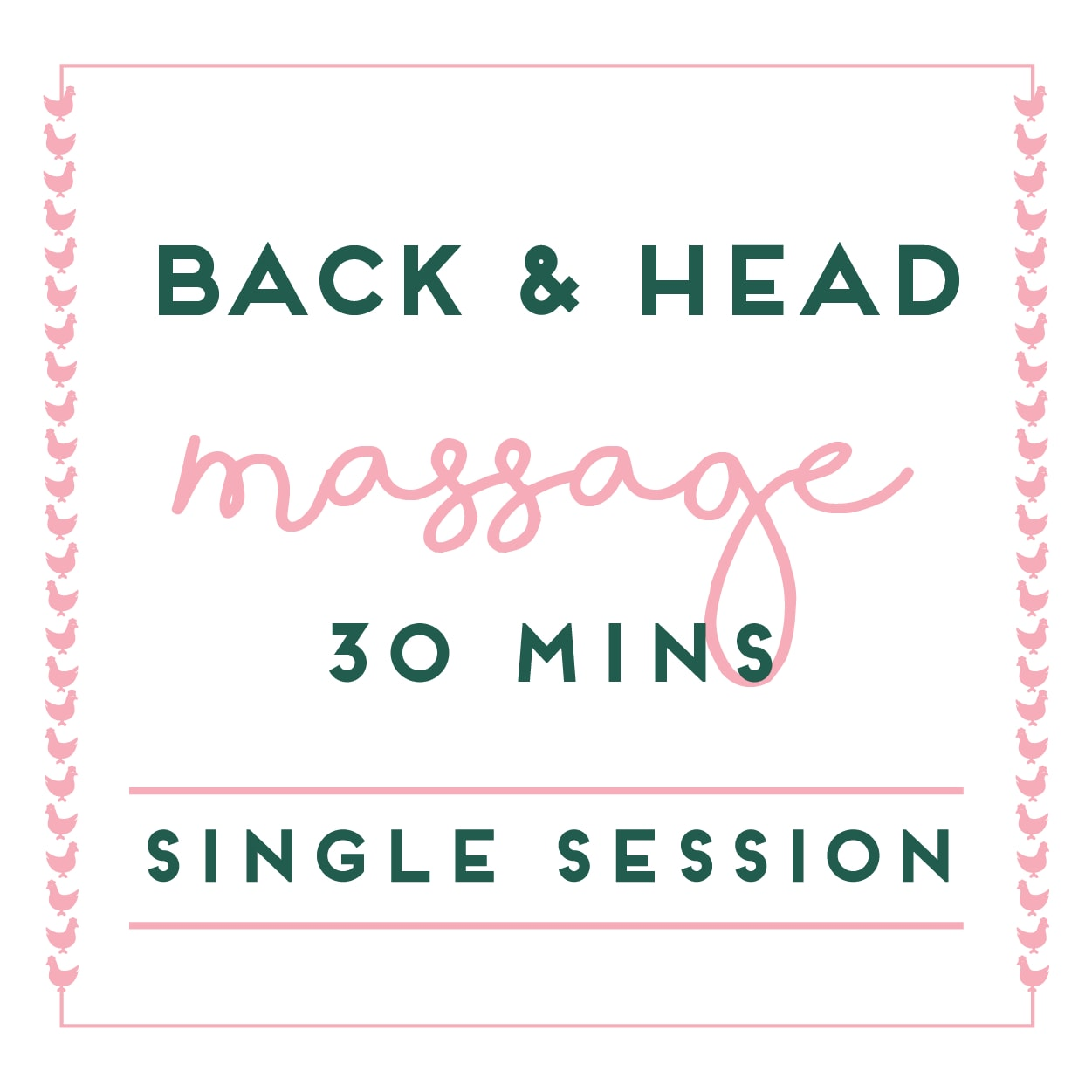 Back & Head Massage