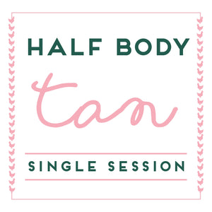 Half Body Spray Tan