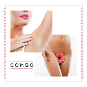 Brazilian & Underarms Laser - Single Session