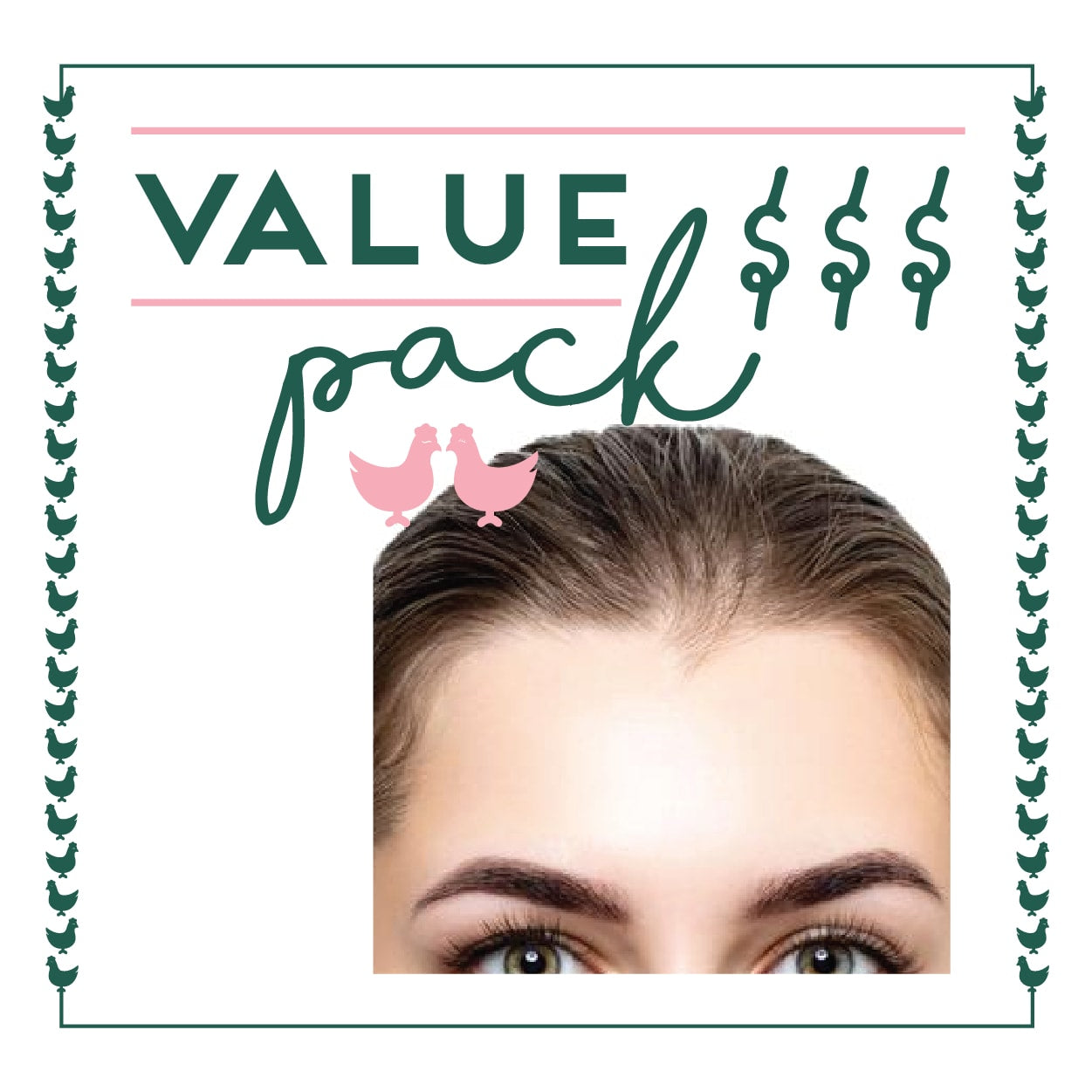 Forehead Laser - 6 Session Value Pack