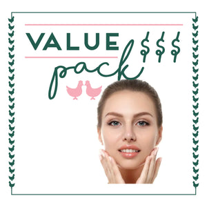 Full Face Laser 6 Sessions - Value Pack