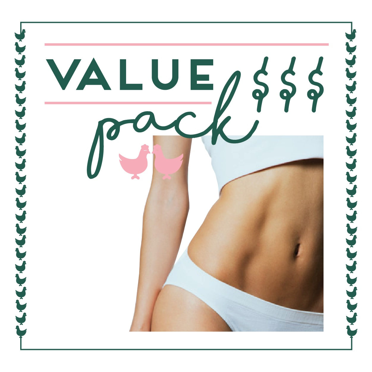 Stomach Laser - 6 Session Value Pack
