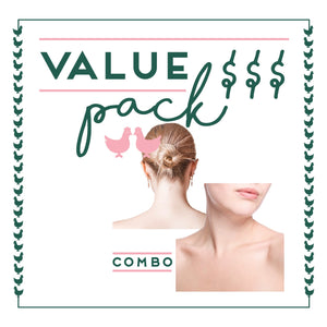 Back & Front Of Neck Laser - 6 Session Value Pack