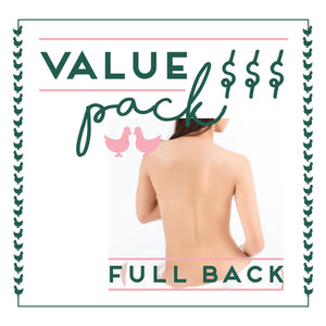 Full Back Laser - 6 Session Value Pack