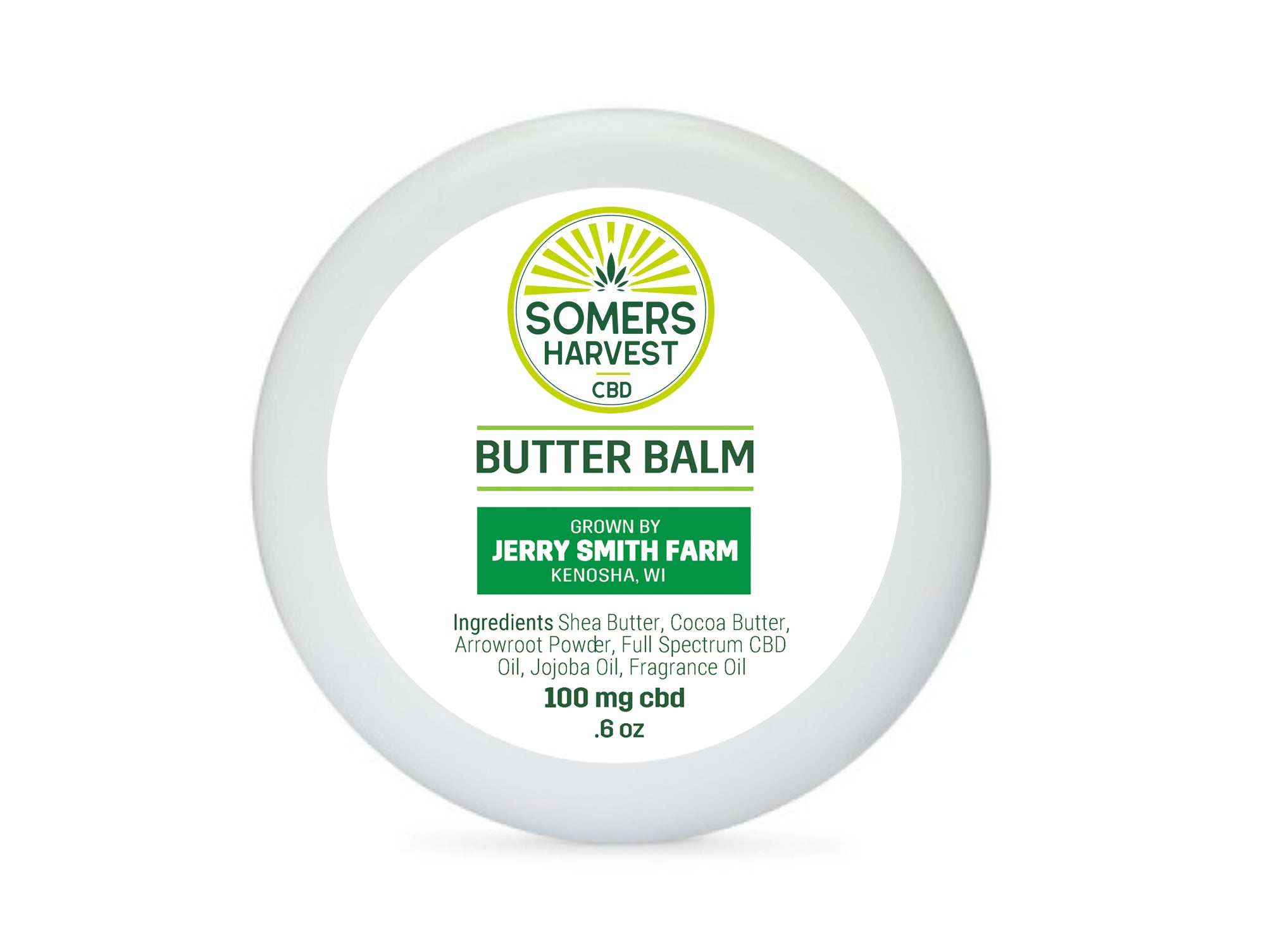 Somers Harvest CBD Butter Balm