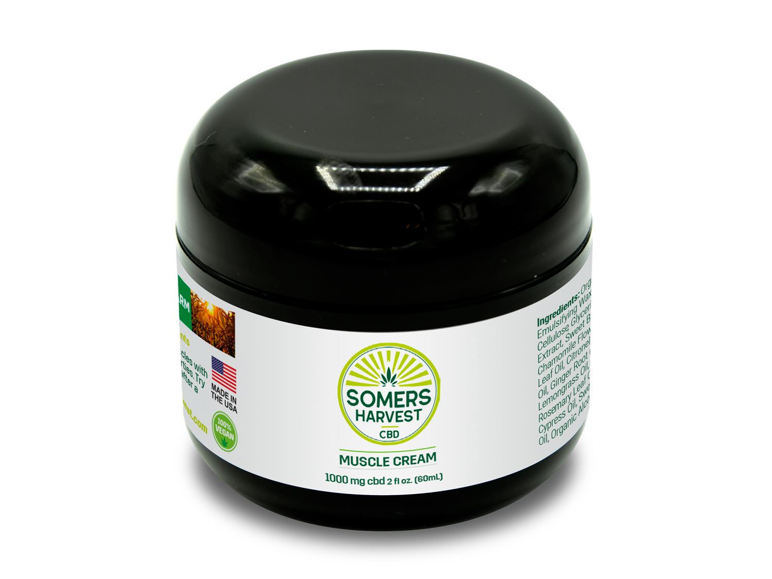Somers Harvest CBD Muscle Cream