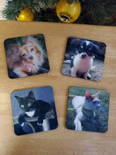 Load image into Gallery viewer, Personalized Coaster Set