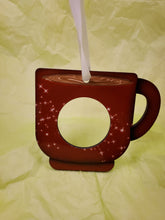 Load image into Gallery viewer, Coffee Pod Ornament ~ Coffee Cup design