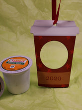Load image into Gallery viewer, But First Coffee Pod Ornament ~ Tumbler design