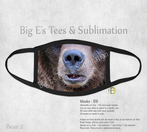 Face Mask ~ Bear 2
