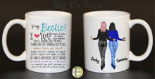 Load image into Gallery viewer, Ceramic Mug - 11oz ~ Personalized My Besties Mug