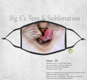 Face Mask ~ Cat 1