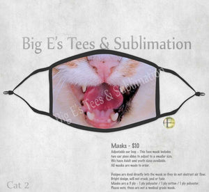 Face Mask ~ Cat 2