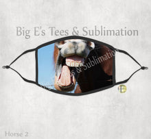 Load image into Gallery viewer, Face Mask ~ Horse 2