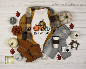 It's Fall Y'all Unisex Short Sleeve Tee