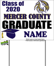 Load image into Gallery viewer, Senior ~ Class of 2020 Yard sign