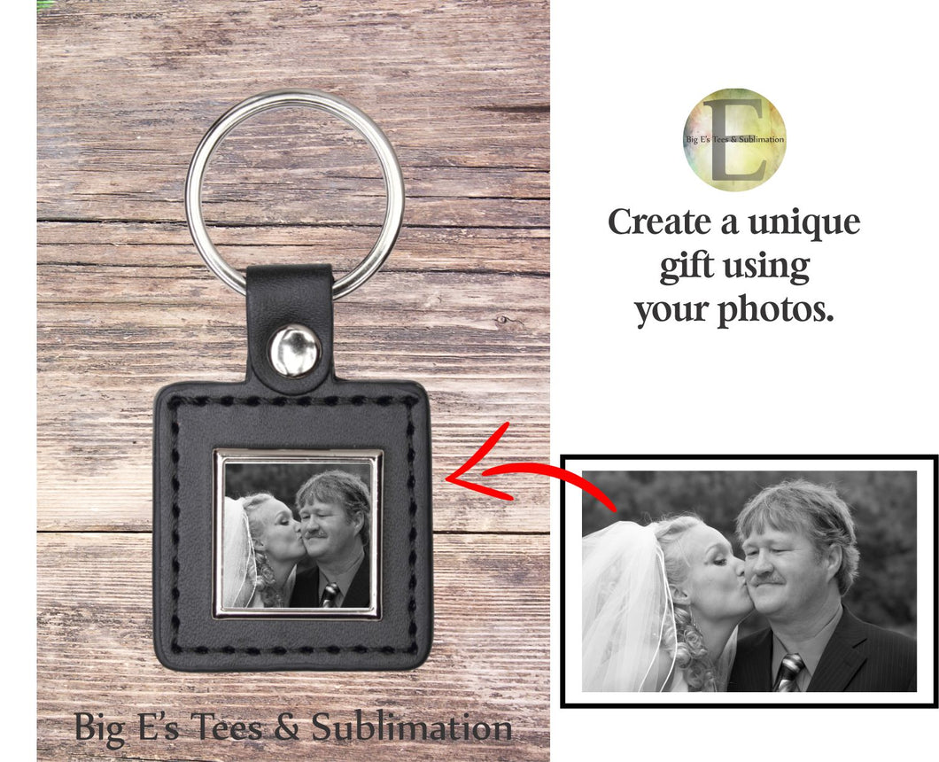 Photo Key Chain ~ Square